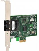 100Mbps Fast Ethernet PCI-Express Fiber Adapter Card, SC connector, includes both standard and low profile brackets, Sin