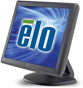 """15"""" ELO dotykovy LCD 1515L, odporový touchscreen AccuTouch, RS232/USB rozhranie, farba tmavo sivá"""