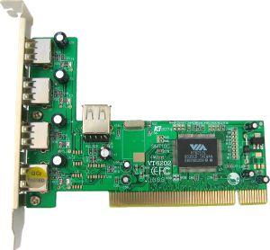 4World, PCI 4+1xUSB 2.0