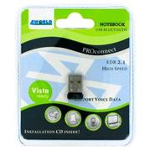 4World Vista USB bluetooth adaptér class 2 EDR 2.1