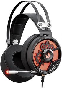A4tech Bloody M660, herné slúchadlá, USB, čierno-červené