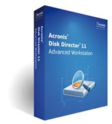 Acronis Disk Director 11 Advanced Workstation ENG - Version Upgrade in
