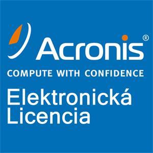Acronis True Image 2017 for 1 PC CZ, EN, DE, RU, ESD licencia