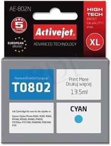 ActiveJet kompatibil Epson T0802, cyan, 12ml