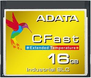 Adata CF Industrial, SLC, 16GB, -40 až 85°C, pamäťová karta, bulk