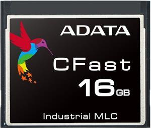 Adata CFast Industrial MLC 16GB, 0 - 70°C, pamäťová karta