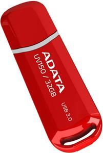 Adata UV150 32GB, flashdisk, USB 3.0, červený