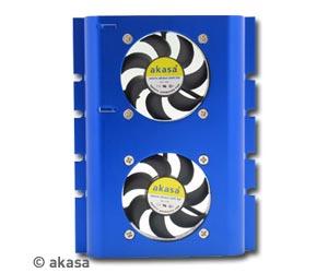 Akasa AK-HD-BL Hard Disk Drive Cooler Blue