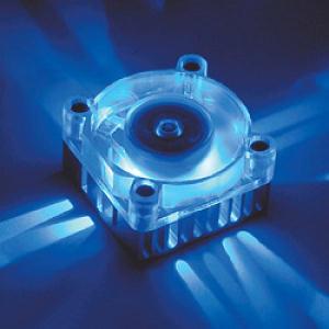 Akasa Chipset Cooler 4cm Modrý