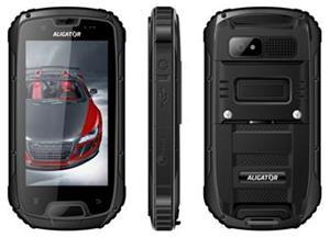 Aligator RX430 eXtremo Dual SIM, černá - používaný