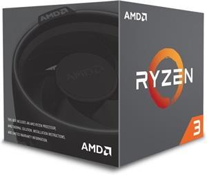AMD Ryzen 3 1200, BOX, chladič Wraith - rozbalené
