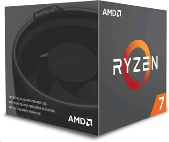 AMD RYZEN 7 1700, BOX, Wraith Spire chladič
