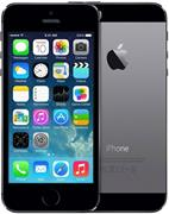 Apple iPhone 5S, 16 GB, sivý