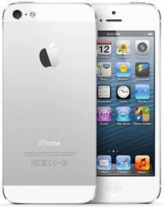 Apple iPhone 5S, 16 GB, strieborný
