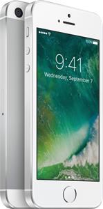 Apple iPhone SE, 128 GB, strieborný