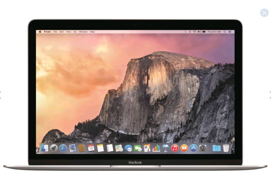 Apple MacBook 12 MF865SL/A, strieborný