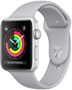 Apple Watch Series 3 GPS, 38mm Silver Aluminium Case with Fog, športové hodinky