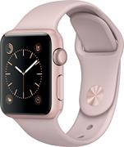 Apple Watch Series1 38mm, ružovo - zlatý hliník, športový remienok