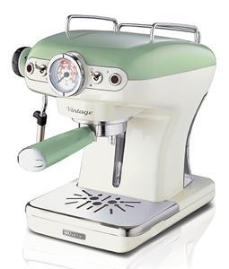 Ariete Vintage 1389/14, espresso kávovar, zelený