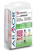 ARMOR cartridge pre Epson SX425W 2Bk+1C+1M+1Y, kom. s T129540