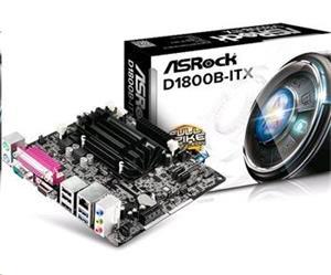 ASRock MB Int.procesor, D1800B-ITX, 2xDDR3, VGA, mini-ITX