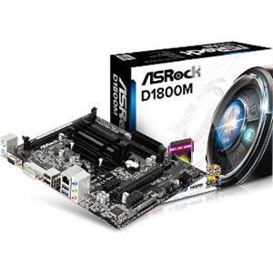 ASRock MB Int.procesor, D1800M, 2xDDR3, VGA, mATX
