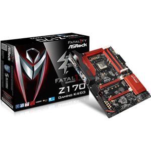 ASROCK Z170 GAMING K4/D3 Fatal1ty