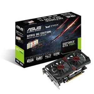 Asus STRIX-GTX750TI-OC-2GD5, 2GB
