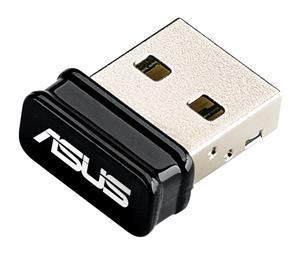 Asus USB-N10, 150 Mbps nano USB, Wifi adaptér