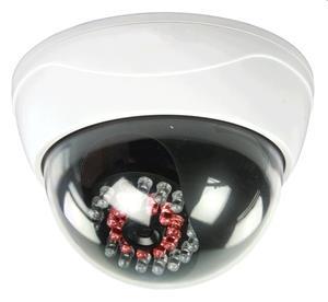 Atrapa KÖNIG CCTV DOME kamery s 25 IR LED