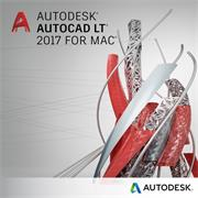 AutoCAD LT for Mac 2017 Commercial New Single-user ELD Annual Subscription with Advanced Support