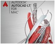 AutoCAD LT for Mac Commercial New Single-user 3-Year Subscription Renewal with Advanced Support