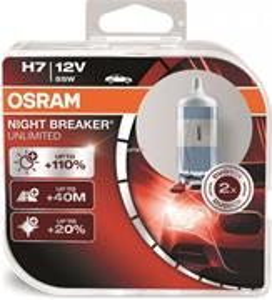Autožiarovky OSRAM Night Breaker Unlimited PX26d, H7