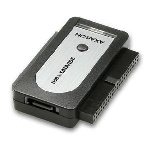 Axago Externý USB 2.0, SATA/IDE adapter, + adapter, ADID-70