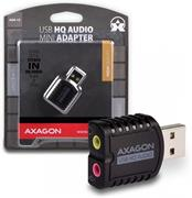 AXAGO USB2.0 - stereo HQ audio MINI adapter 96kHz