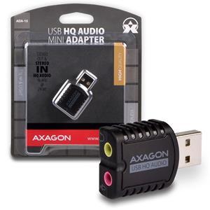 AXAGO USB2.0 - stereo HQ audio MINI adapter 96kHz