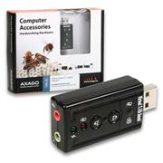 AXAGO Virtual 7.1 audio adapter, USB