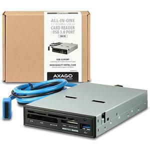 """Axagon CRI-XS, 3.5"""" interná čítačka kariet, USB"""