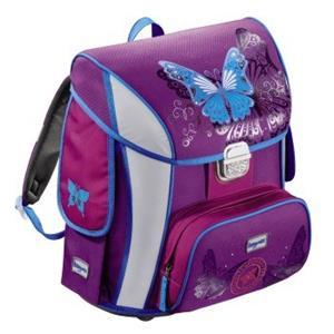 Baggymax SIMY motýľ, školská aktovka