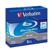 BD-RE Verbatim 2X/25GB/Jewel