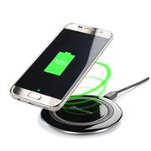 Bezdrôtová nabíjačka CellularLine WIRELESS PAD, Qi štandard, čierna