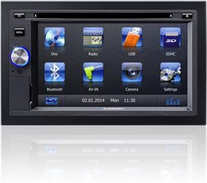 Blaupunkt SanDiego 530 World autorádio DVD/MP3/WMA/Radio, USB, 2DIN