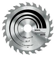 Bosch Pílový kotúč Bosch OW, 190 mm, otvor 30 mm, 48 zubov, b1 2,0 mm