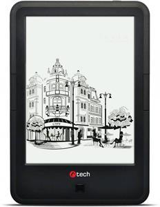 C-TECH E-book Lexis 8GB, HD, Android 4.2, čierna
