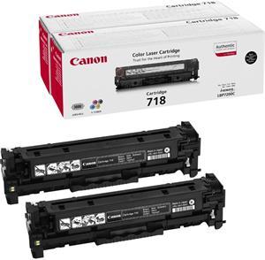 Canon CRG-718, čierny, 2x3400strán