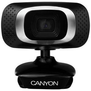 Canyon CNE-CWC3 Webkamera, Full HD 1.080p, CMOS, USB, mikrofón, 360° rozsah