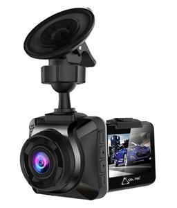 "CEL-TEC E04 - palubní kamera do auta HD 720p, microSDHC, HDR, 2"" LCD, černá"