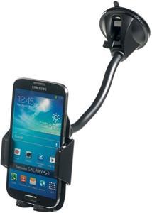 CELLY FLEX12 univerzálny držiak s prísavkou pre mobilné telefóny a smartphony, flexibilné rameno