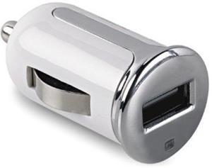 CELLY Turbo s USB výstupom, 2,4 A, biela, blister