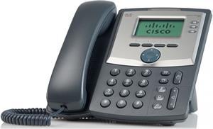 Cisco SPA303 3-Line IP telefón, displej, PC port
